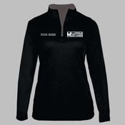 MEZIP - 4103 B-Core Ladies 1/4 Zip