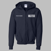 MEZIP - 18600B Youth Heavy Blend™ Full-Zip Hooded Sweatshirt